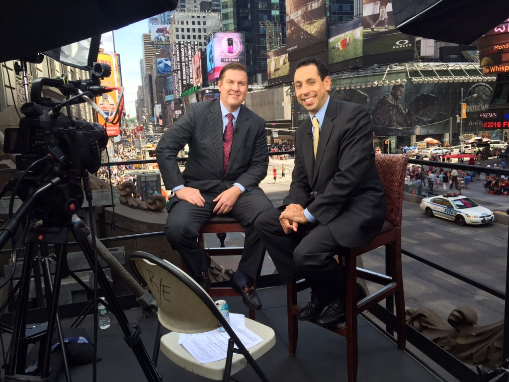 Christian Koch on Times Square Today TV