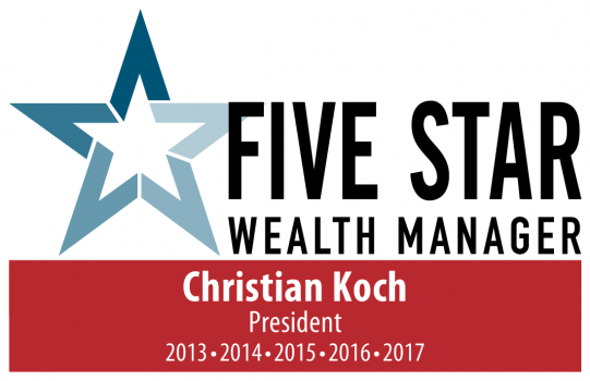 Five Star Wealth Manager Christian Koch of KAM South
